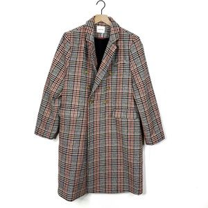 Court & Rowe Fall Houndtooth Plaid Topper Coat XL